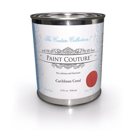 Caribbean Coral-Zero VOC-Furniture & Cabinet Paint