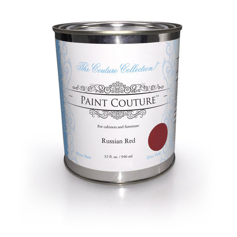 Russian Red Zero VOC- Furniture & Cabinet Paint