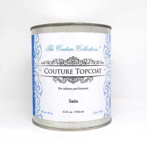 Couture Topcoat Satin