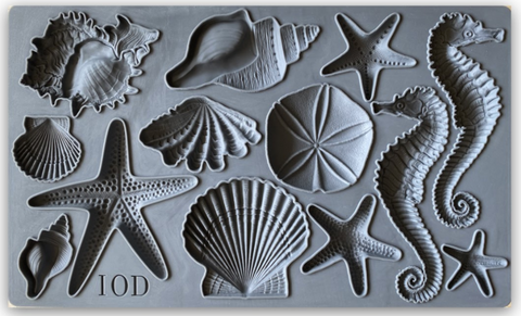 IOD Decor Moulds: { Seashells }