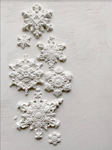 IOD Decor Moulds: { Snowflakes } 🕒 Preorder } 🕒