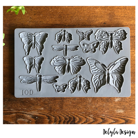 IOD Decor Moulds: MONARCH  { Shipping 4/16 }