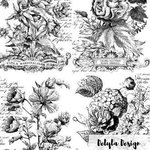 IOD Decor Transfer: Classic Boquets {Fall Release}