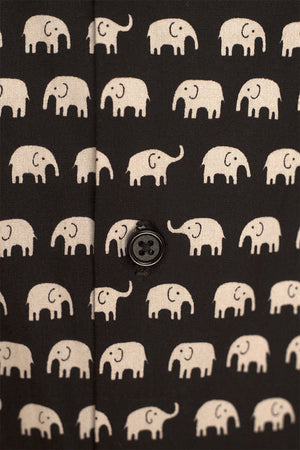 Elephants Black