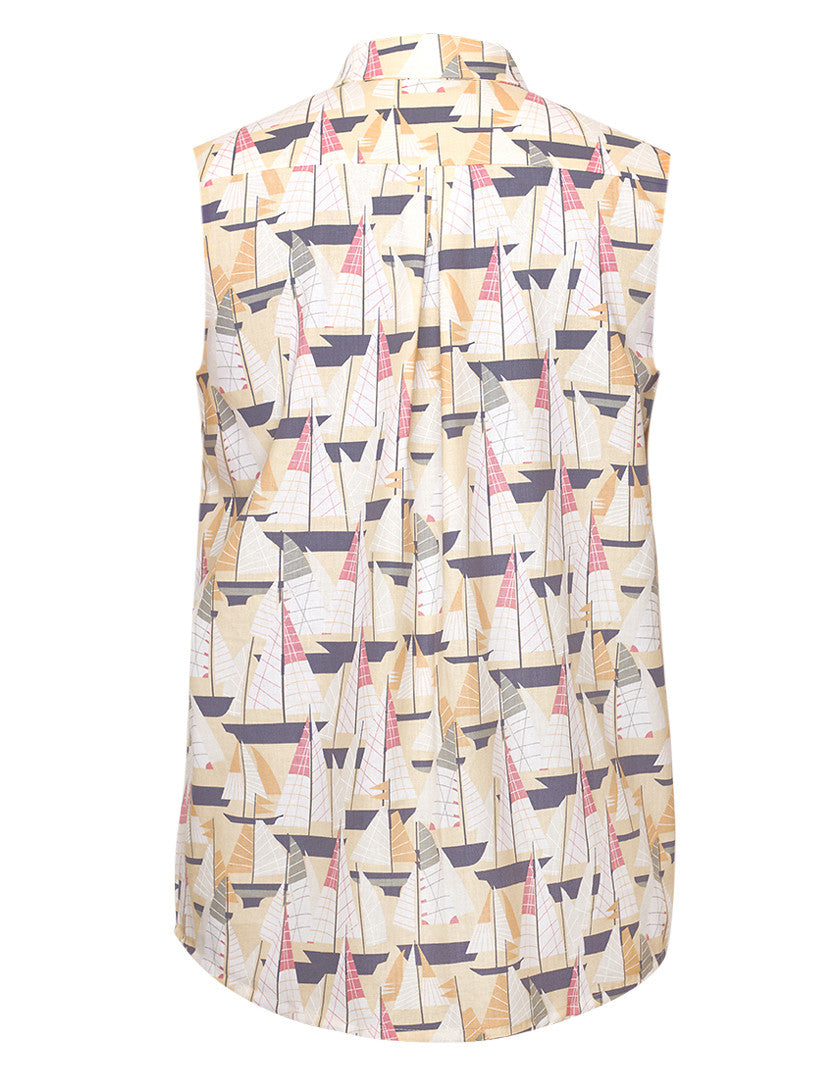 Boats Pastel Sleeveless