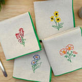 California Wildflower Dinner Napkins