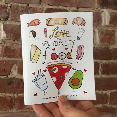 """I Love New York Food"" Coloring Book"