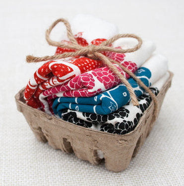 Flour Sack Berry Basket Napkins
