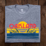 Oakland License Plate Tee