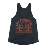 San Francisco Baseball Racerback Tanks