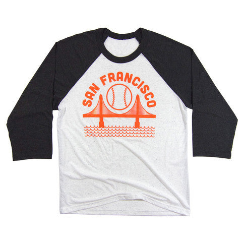 3/4 Sleeve San Francisco Baseball Raglan