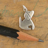 Little Dog Sterling Silver Charm Necklace