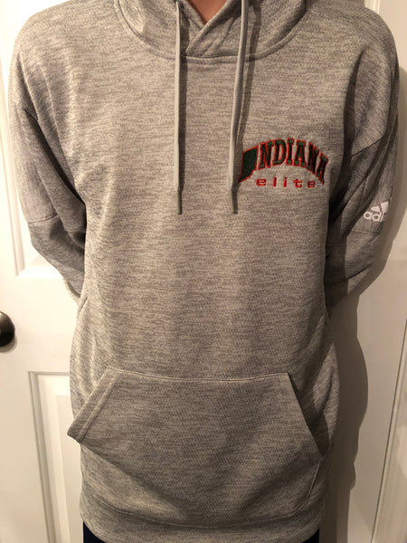 Gray Indiana Elite Hoodie- 5 YOUTH MEDIUM, 5 YOUTH LARGE, 6 YOUTH XL