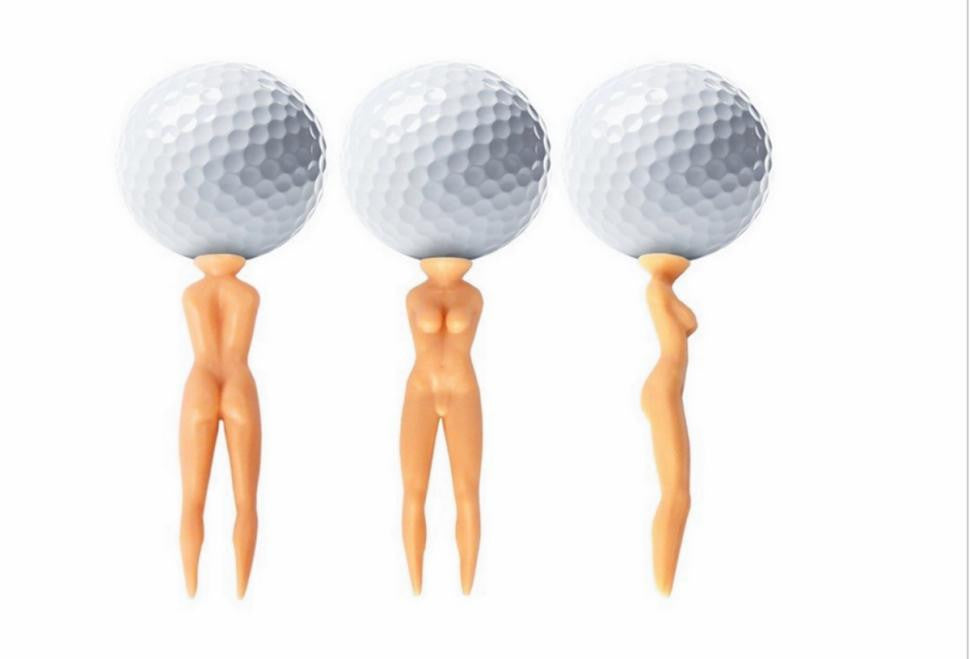 Naked Lady Golf Tees