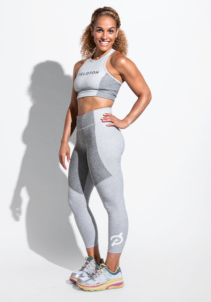 Peloton 3/4 Two-Tone Leggings
