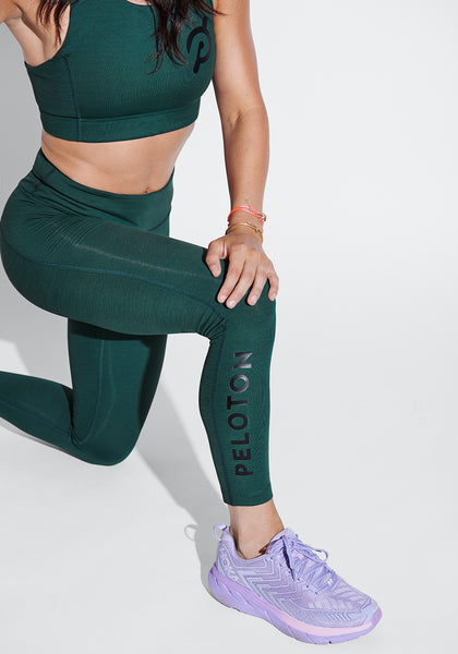 Peloton TechSweat 7/8 Flex Leggings (Evergreen)