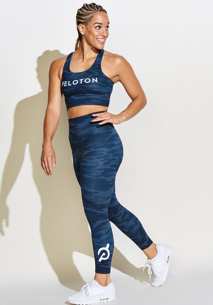 Peloton Signature Camo 7/8 Tight
