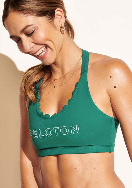 Emerald Scallop Bra