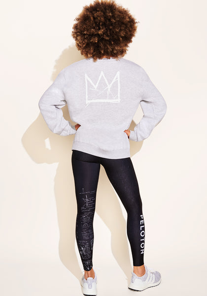 Peloton Basquiat Crown Crewneck