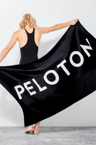 Premium Beach Towel (Black)