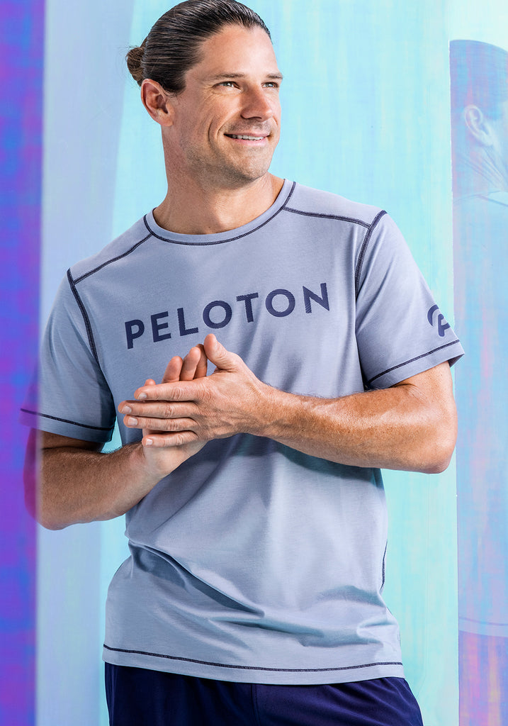 Peloton Ice Purple Tech Tee