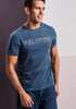 Peloton Heather Teal Tech Tee