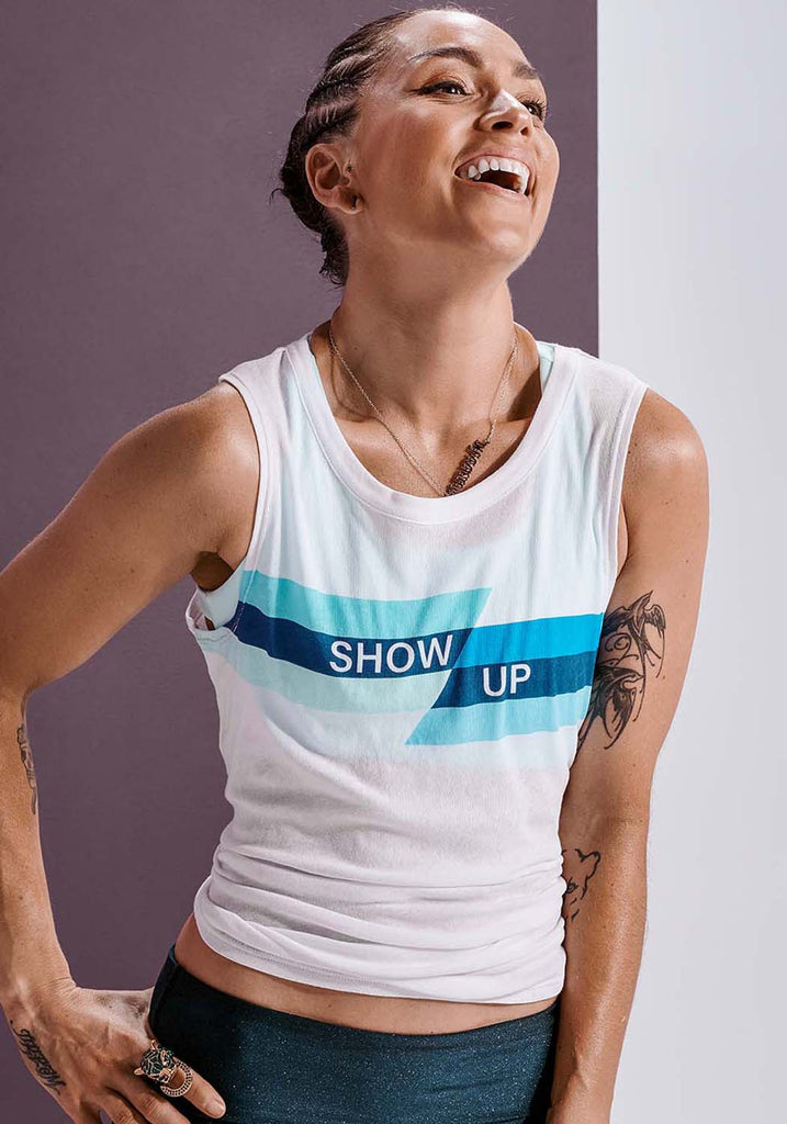 Show Up Shirttail Tank