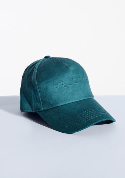 Teal Embossed Hat