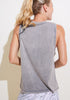 Washed Cotton Tank