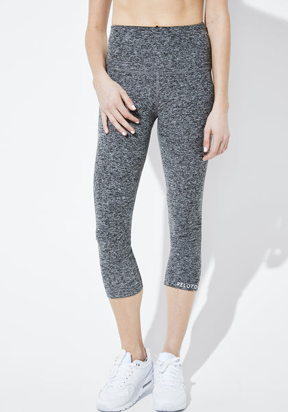 Spacedye High-Waist Capri Leggings
