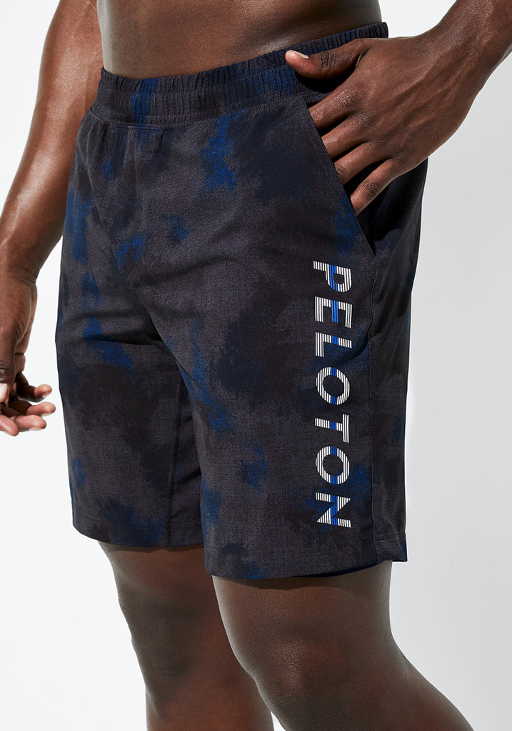 "Peloton Printed 9"" Shorts"