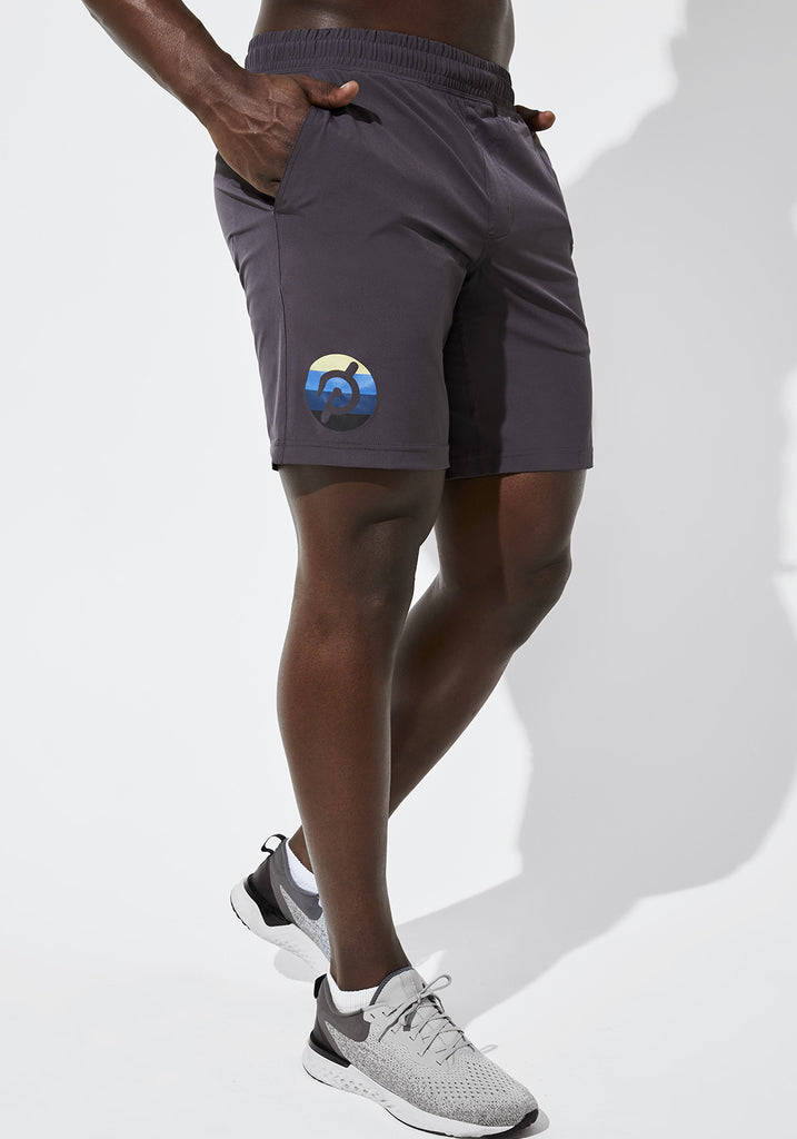 "Peloton 9"" Unlined Mako Shorts"