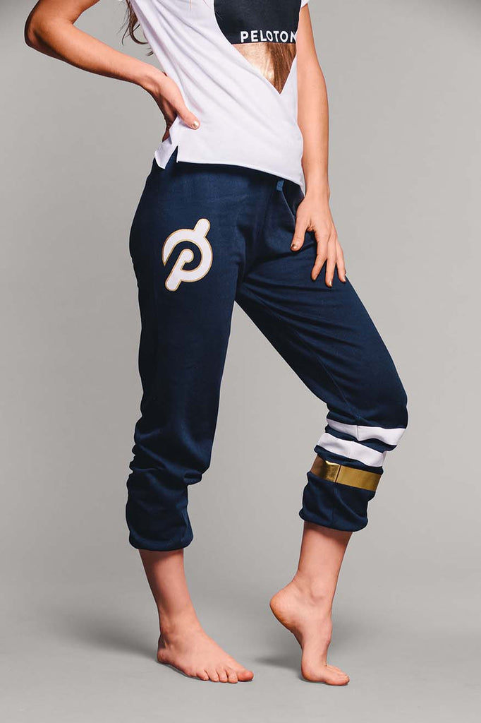 Gold Stripe Sweatpants