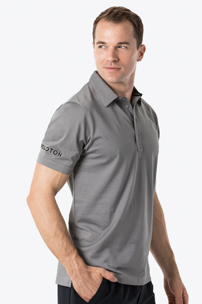 Men's Golf Shirt (Gray)