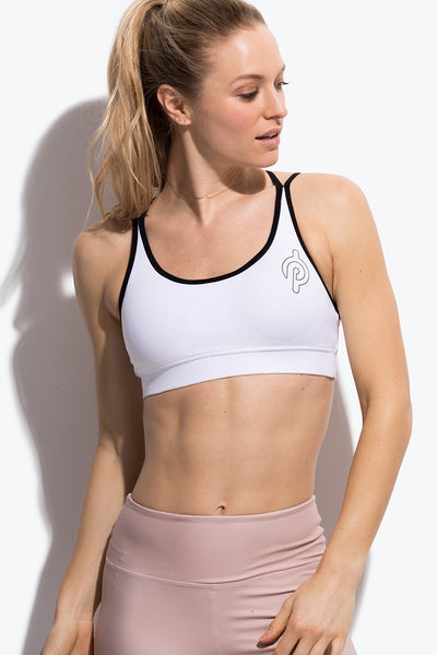 Peloton Perforated Strappy Bra