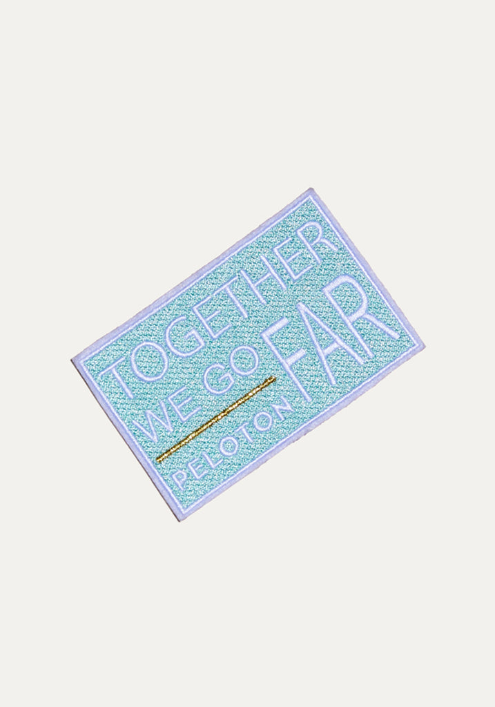 Together We Go Far Patch