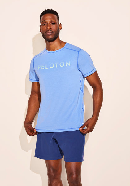Peloton Baja Blue Tech Tee