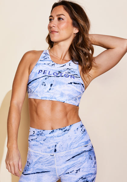Peloton High Neck Geode Bra