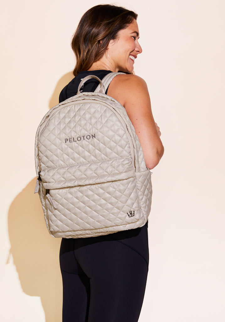 Peloton Quilted Backpack