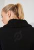 Peloton Stealth Moto Fur Jacket