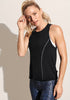 Peloton Piped Racer Tank