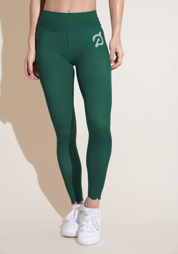 Emerald Scallop Legging