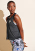 Peloton Shine Star Crop Tank