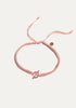 Peloton Stronger Together Bracelet (Light Pink)