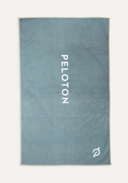 Peloton Green Fade Towel