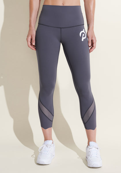 Peloton Wunder Under Crop Scallop Legging