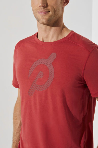 Peloton Tech Tee (Red)