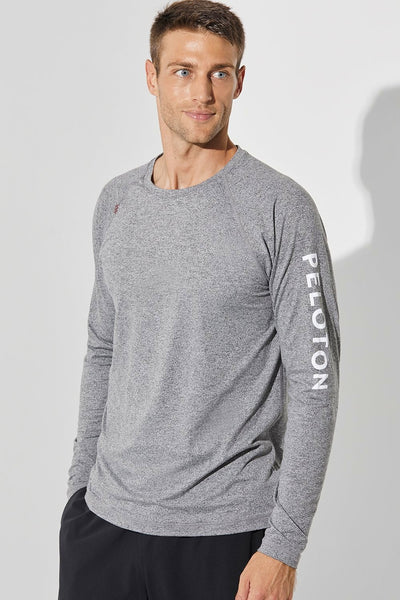 Peloton Long Sleeve Reign Tee (Legacy Grey)