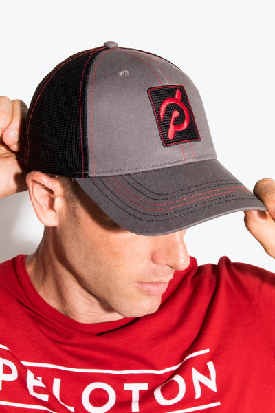 Peloton Red Stitching Hat