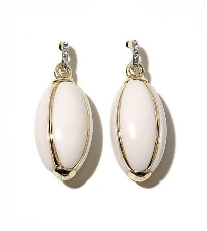 Roberto by RFM Oval Drop Earrings